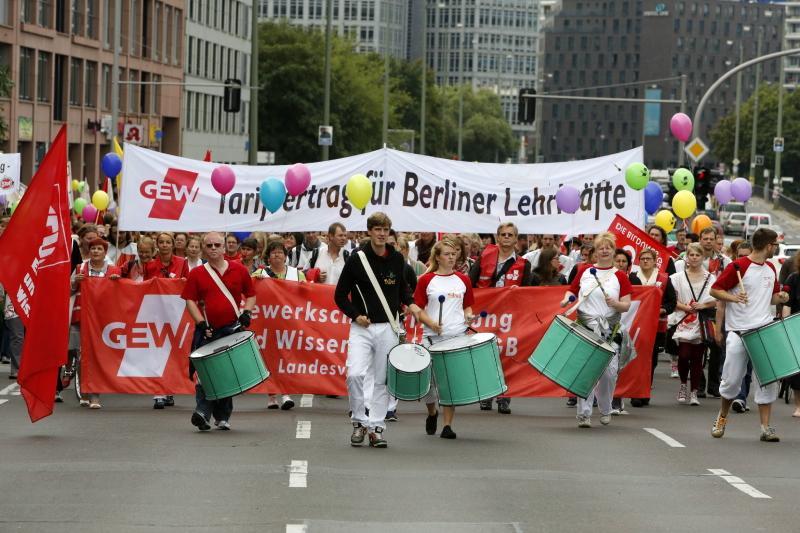 Berliner Lehrer streiken